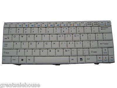White New Keyboard MSI Wind V022340AS1 KB-RG-02232-2A-S1-US S1N-1UUS2A1-SA0(China (Mainland))