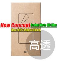 100% Original Xiaomi Redmi Note Original Redmi Note 4G  HD film Xiaomi Protector film High permeability sell by Lot
