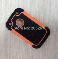 wholesale hybrid case back cover for blackberry 9320, ball skin cover for blackberry 9320