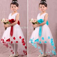 freeship2014 summer lace flower girls dresses,infant princess dress ,kids & baby party dress, formal dress for chirldren girls