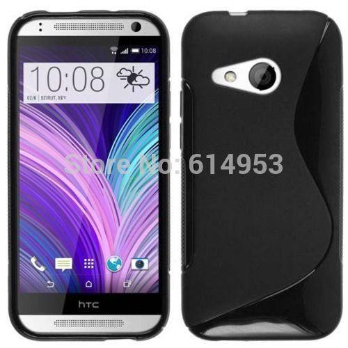 For HTC One mini2 / M8 Mini Case TPU S line Scratch-Resistant Soft Gel Case Cover(China (Mainland))