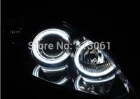 MAZDA 3 MAZDA3 Angel Eye Halo Light Ring CCFL Kit White Headlight M3 4Door Sedan  We through fast free Hong Kong parcel sending
