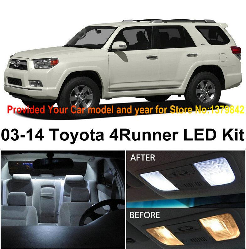 Лампа для чтения Iculed 10Pcs/Lot Toyota 4Runner 2003/2014 лампа для чтения iculed 7pcs scion tc 2008 2014