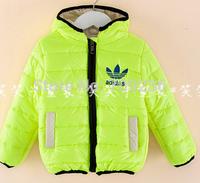 2014 winter best sale  Winter boy/girl coat down-filled jacket children's cotton-padded jacket warm jacket children clothing
