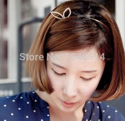 cute rhinestone mix 12 pcs/lot pearl Girls Korean hair accessory Fashion Bow Headband Hairband Hair Bands Holder Hoop Selling(China (Mainland))
