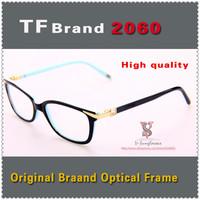 New Freeshipping original quality Brand optical frame TF2060 woman fashion Designer frame with logo and Box