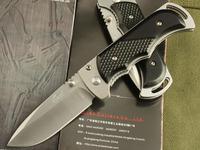 Wholesale Enlan high quality folding blade knives hunting camping knife wood handle pocket knife free shipping GJ260