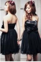Evening Dresses formal dress short design bridesmaid dress one-piece dress skirt wedding dress