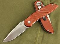 Brand Wholesale Enlan high quality folding blade knives hunting camping knife aluminum handle pocket knife free shipping GJ014