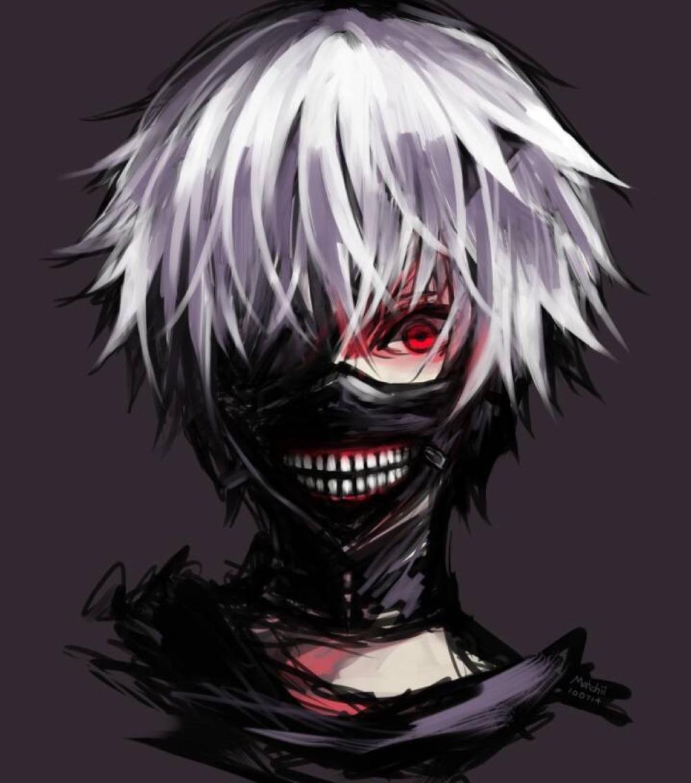 [UT] Let Her Go Cool-Cos-Cosplay-Masks-Tokyo-Ghoul-Kaneki-Ken-Adjustable-Zipper-PU-Leather-Mask-H20851