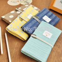 Creative canvas bag shape notebook,kawaii diary book,handmade paper books,Free shipping(tt-746)