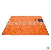150*200CM Outdoor Picnic Camping Tent Moistureproof Mat Mattress Multifuntion Picnic mat Orange/Glass Green/Sky Blue