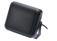 black external speaker for radio or MP3 audio player fast shipping