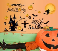 Happy halloween Home Decor Removable Wall Sticker/Decal/Decoration B40891