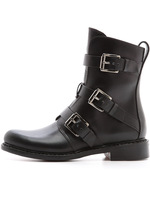 2014 autumn black women fashion boots,genuine leather buckle strap ankle boot for grils P11