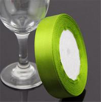 "Green Grosgrain Ribbon Wedding Decoration Ribbons  0.6""(2cm) Width 25 yards(23-25 m) Length"