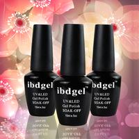 6pcs salon gel Free shipping Uv Nail Gel 15ml 0.5oz ibdgel