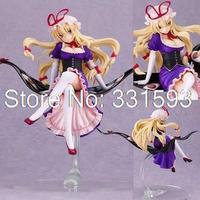 Free Shipping Game Touhou Project Yakumo Yukari 22CM PVC Action Sexy Figures Models Collectible Toys