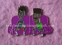 BBH badge, advertisment pins, character pins
