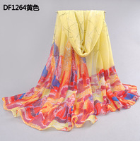 2014 bali yarn women's scarf autumn and winter thermal oversized long design beach  scarf