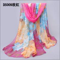 2014 chiffon silk scarf women's summer sunscreen beach towel spring and autumn thin scarf