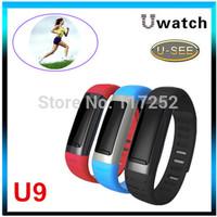 U Watch Waterproof Bluetooth Smart Watch U See U9 Wristwatches Smartwatch Pedometer Wifi Hotspots For iPhone Android Samsung