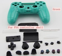 Free Shipping 10PCS/LOT For Palystastion 4 ps4 Wireless Controller Repair Shell Case With Keys Stand
