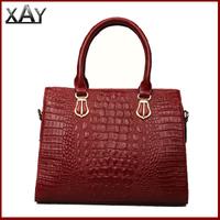 Free Shipping!New 2014 Women Messenger Bag Crocodile Handbag Skin Ladies Leather Bag Genuine Leather Bags FG1996