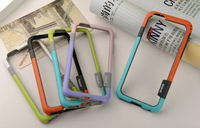 "Wholesale 200pcs/lot Stylish Colorful Slim TPU Bumper Case Cover For Apple iPhone 6(4.7"")"