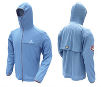 Fishing sun-protective clothing Omni-Dry Breathable  Fishing Wear  mosquito prevent suit Orlando