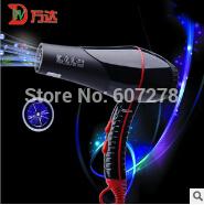 Wholesale -Newest!!Black Ceramic Air Flow Hair Dryer new box  10pcs/lot