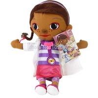 "Movie 12"" Doc McStuffins Soft Stuffed Plush Toy Doll Kids Girls Gift Free Shipping 1pc/lot"
