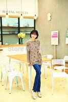 Maternity/ Pregnan Women's Plus Size Fashion Slim Flare Jeans B341