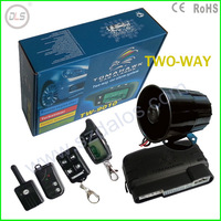 2014 Free Shipping LCD Remote for Tomahawk TW 9010 two Tomahawk TW9010 way car alarm system