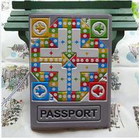 2014 3D stereoscopic flight chess sets passport holder Passport identity documents folder sets - essential travel abroad