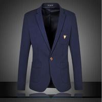 free shipping 2014 winter new upscale men suit jacket hot sale Large size 6XL casual suit coat