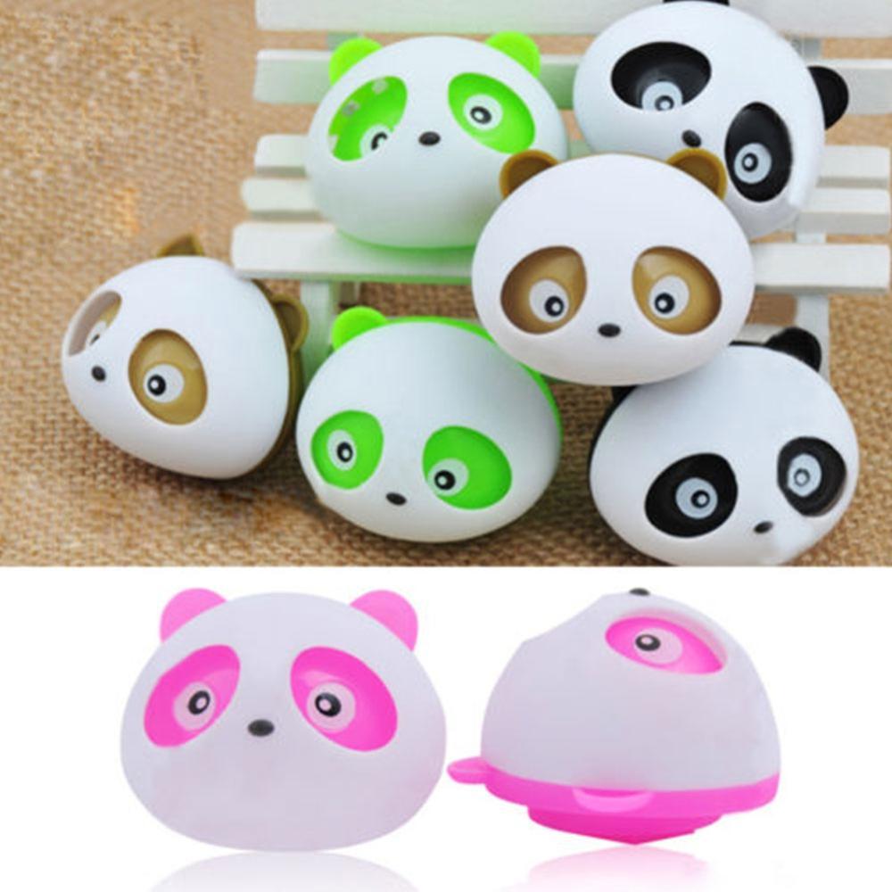 New hot 2x Decor Auto Dashboard Air Freshener blink Panda Perfume Diffuser for Car free shipping(China (Mainland))