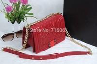 Women Handbag Fashion Brief Pattern Vintage Shoulder Bags Famous Ladies Evening Messenger Bags Women Genuine Leather Brand Totes