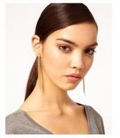 6pairs/lot tassel Chain Earrings  A1325