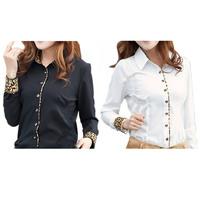 2014 Spring New Blouses & Shirts Female Long Sleeve Cotton Blouse Women Casual Loose Tops Woman High Street Denim Shirt