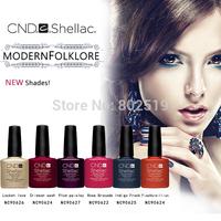 Free shipping Beauty Nail Set 3pcs/lot CND Nail Art Led Gel Polish Shellac