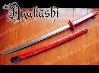 New Anime Akame ga KILL Akame Cosplay Wood Sword Cos Props