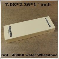 """Export Japanese whetstone M25 6 Micron Fine Polish 4000# corundum 7.08*2.36*1"""" inch water whetstone sharpener system"""