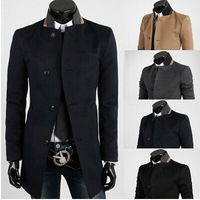 New winter men joining together The fashion leisure trench coat