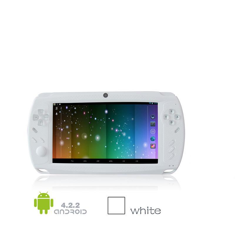 CF701 RK3188 1.6GHz 7 inch Android Game Tablet PC GamePad Android 4.2 Quad Core Handheld Game Console Player 1G/8G(China (Mainland))