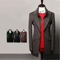 New winter double collar coat special big yards men's men's trench coat