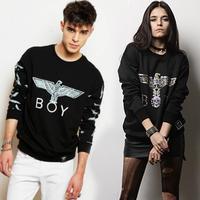 2014 new autumn winter harajuku punk women men boy london printed casual sweatshirt HOODIES brand pullover free shipping QY40014