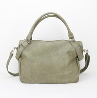 "H042,Free shipping,light green soft PU leather Handbags,Size:13.5 x 5 x 11""(L*W*H),PU + Accessories,"
