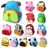 Double-shoulder baby school bag cartoon bag child