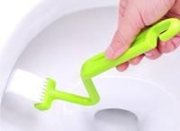 New V shape Baby Toilet Cleaning Brush